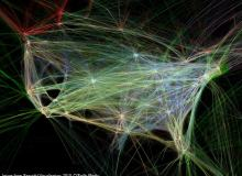【信息视觉化】飞行图:三维与二维的呈现