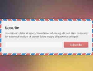 44个邮箱订阅与注册提交网页UI设计素材下载