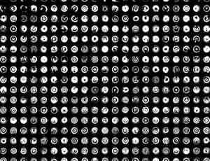 海量高科技圆形图案笔刷