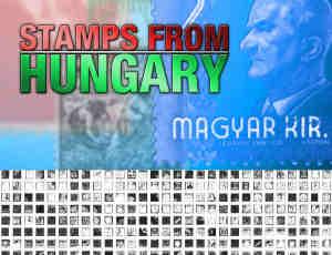 342枚匈牙利邮票图案笔刷