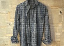 一件由6500个螺丝特制的衬衫衣服