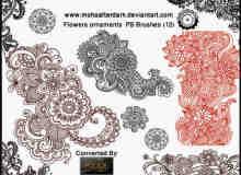 古典式花纹装饰笔刷