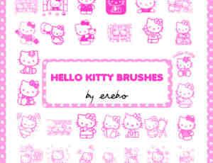 女生专用可爱的Hello Kitty笔刷