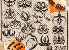 装饰性花纹花饰笔刷