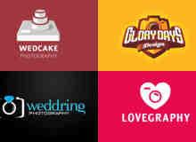 30个照相机主题logo标志设计
