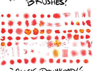 Photoshop基础类艺术画笔笔刷下载
