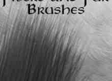 纤维与细毛发笔刷