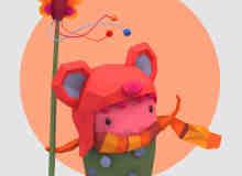 创意童趣灵感插画设计【心灵的婴儿】