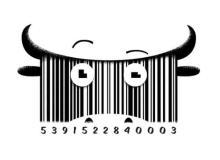 充满灵感创意的艺术条形码【产品条形码设计】