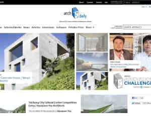 酷站推荐:Arch Daily每日分享全球建筑设计效果图