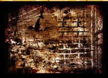 52种墙面刻花痕迹纹理笔刷
