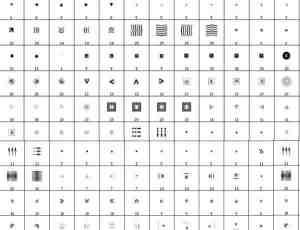 网页素材箭头指示符号笔刷