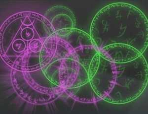 奇幻魔幻效果的魔法阵组合笔刷
