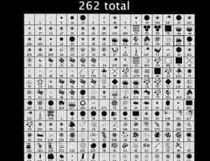 262种设计人必备PS笔刷