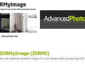 Photoshop 多重曝光图像融合插件 Advanced Photo Tools IDRMyImage 32位和64位免费下载