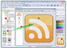 强大专业的图标制作工具 Axialis IconWorkshop V6.8.1 汉化破解版