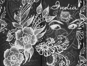 手绘鲜花、花朵图案PS笔刷