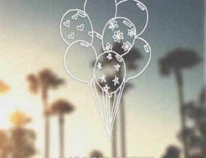 卡通手绘气球PS笔刷