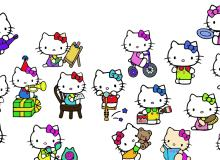 可爱卡通Hello Kitty图片素材-美图秀秀素材
