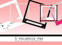 5个照明美化式相框图片素材-【美图秀秀素材】