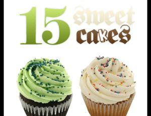 15种漂亮蛋糕素材-【美图秀秀素材】