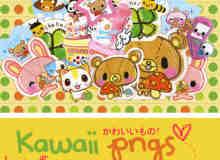 一套韩国卡通熊熊照片美化素材-【美图秀秀素材】