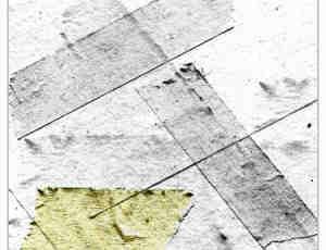 老旧的医用胶带、胶布效果photoshop笔刷素材
