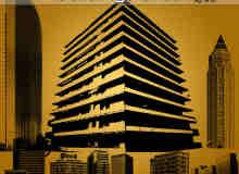 现代高楼大厦photoshop笔刷素材下载