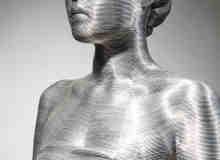 25张用铝线圈组合制作的艺术雕塑作品欣赏