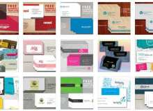 22个免费名片模板PSD源文件下载