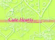 浪漫爱心涂鸦花纹艺术photoshop笔刷素材