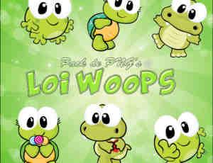 可爱的卡通青蛙美图秀秀、可牛影像素材下载