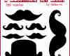 超级可爱的卡通胡子装扮photoshop笔刷素材