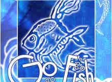 可爱的矢量鱼图案、鱼花纹photoshop笔刷素材 #.2