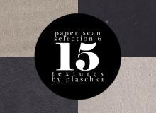 15种各色卡纸、硬板纸、铜版纸等材质纹理背景photoshop笔刷素材