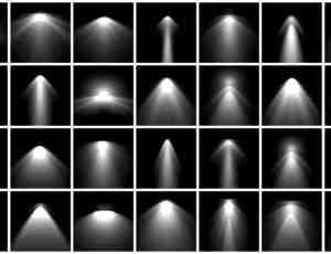 高品质聚光灯、灯光照射、光线射灯photoshop笔刷素材