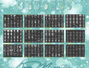 17个个性化PS笔刷素材免费打包下载