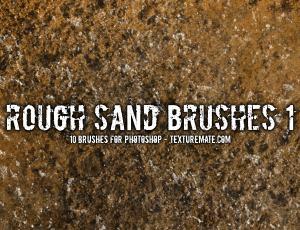 砂砾、沙子、沙漠、砂子岩石墙面纹理素材photoshop笔刷素材