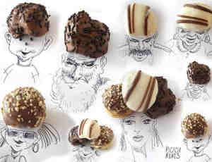 创意生活用品与食物搭配的涂鸦艺术欣赏