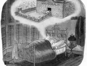 【黑色的幽默 】 Charles Addams 系列插画