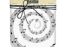 梦想音乐符号乐章photoshop笔刷素材