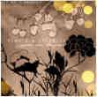 植物鲜花图案与樱桃图案photoshop笔刷素材