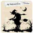 卡通巫女、女巫图形photoshop笔刷素材