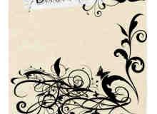 漂亮高贵的植物花纹系列photoshop笔刷素材 #.2