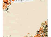 漂亮高贵的植物花纹系列photoshop笔刷素材 #.3