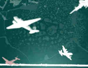 飞机剪影PS笔刷素材下载 #.3