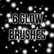 6种高分辨率光球、光斑效果背景点缀photoshop笔刷