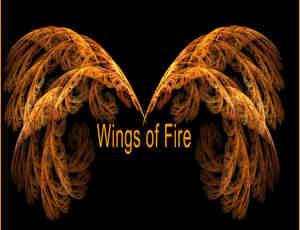 震撼漂亮的分形翅膀图案photoshop笔刷素材
