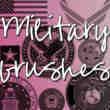美国军事机构图标徽章photoshop笔刷素材