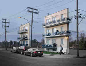 被孤立的建筑表面,ZACHARIE GAUDRILLOT-ROY 超现实摄影